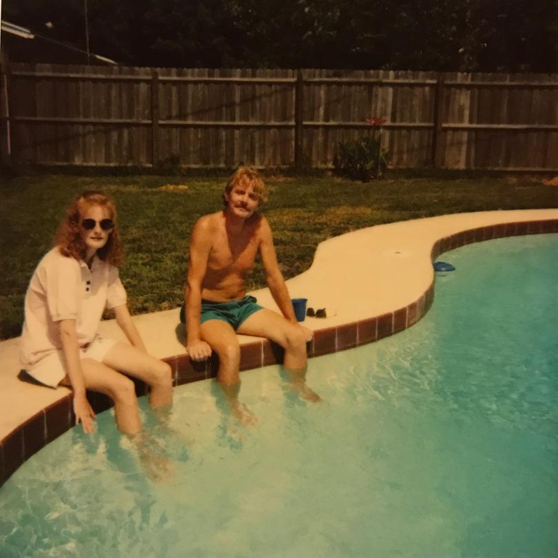 people by pool